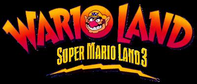 Wario Land: Super Mario Land 3 - Clear Logo