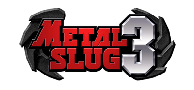 Metal Slug 3 - Clear Logo