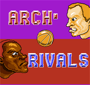 Arch Rivals: A Basketbrawl! - Screenshot - Game Title
