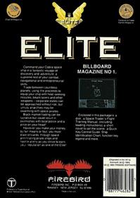 Elite - Box - Back