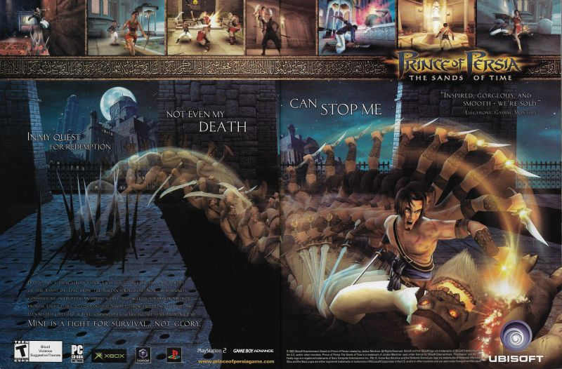 Prince Of Persia The Sands Of Time Details Launchbox Games Database