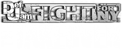 Def Jam Fight for NY: The Takeover - Clear Logo
