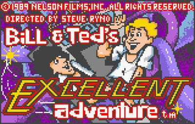 Bill & Ted's Excellent Adventure - Screenshot - Game Title