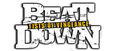 Beat Down: Fists of Vengeance - Clear Logo