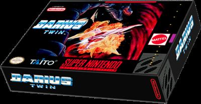 Darius Twin - Box - 3D