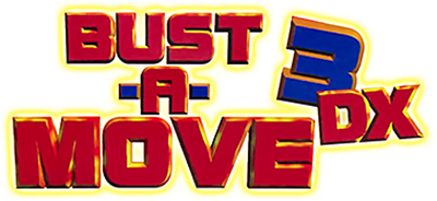 Bust-A-Move 3 DX - Clear Logo