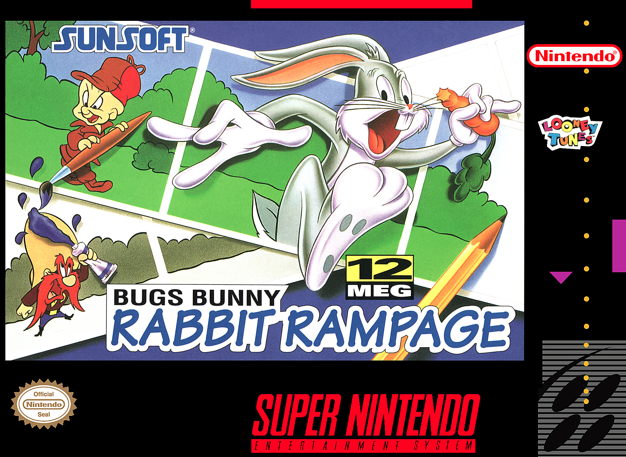 Bugs Bunny Rabbit Rampage Details Launchbox Games Database
