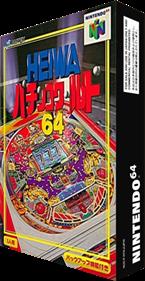 Heiwa Pachinko World 64 - Box - 3D