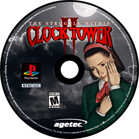 Clock Tower II: The Struggle Within - Fanart - Disc