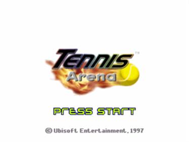 Tennis Arena - Screenshot - Game Title