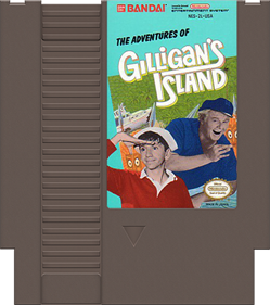 The Adventures of Gilligan's Island - Cart - Front