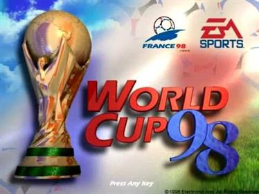 World Cup 98 - Screenshot - Game Title