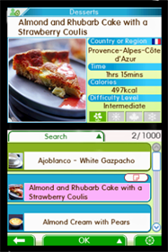 1000 Cooking Recipes from Elle a Table - Screenshot - Gameplay