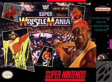 WWF Super WrestleMania - Box - Front