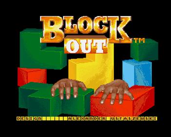 Block Out - Screenshot - Game Title
