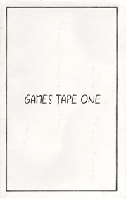 Games Tape One
