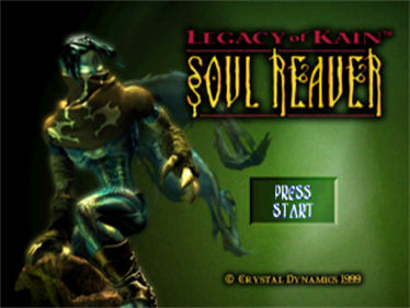 Legacy of Kain: Soul Reaver - Screenshot - Game Title