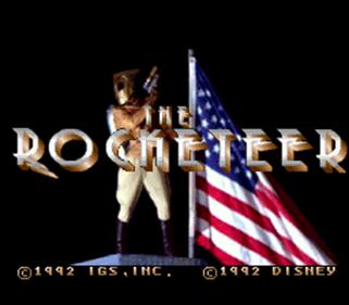 The Rocketeer - Screenshot - Game Title