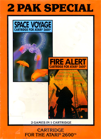 2 Pak Special: Space Voyage / Fire Alert