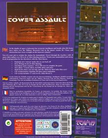 Alien Breed: Tower Assault - Box - Back