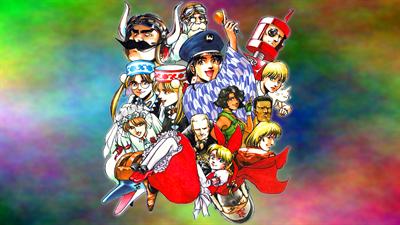 Aero Fighters 3 - Fanart - Background