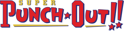 Super Punch-Out!! - Clear Logo