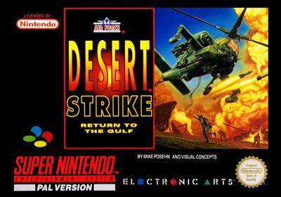 Desert Strike: Return to the Gulf - Box - Front