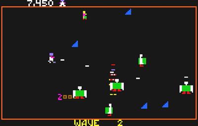 Robotron: 2084 - Screenshot - Gameplay