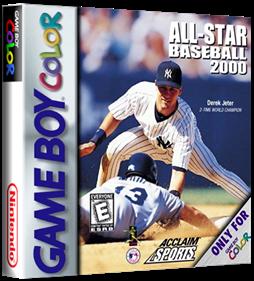 All-Star Baseball 2000 - Box - 3D