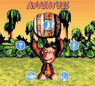 Donkey Kong Country - Screenshot - Game Select