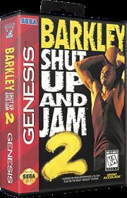 Barkley: Shut Up and Jam! 2 - Box - 3D