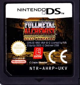 Fullmetal Alchemist: Dual Sympathy - Cart - Front