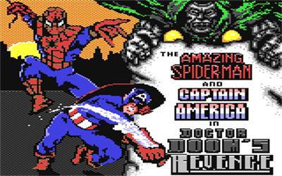 The Amazing Spider-Man and Captain America in Dr. Doom's Revenge! - Screenshot - Game Title