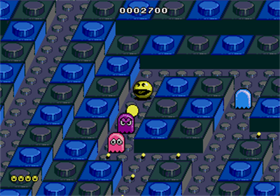 Pac-Mania - Screenshot - Gameplay