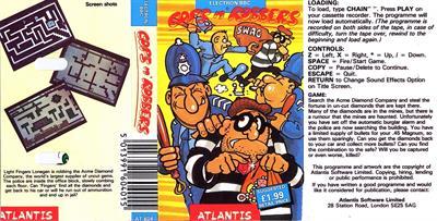 Cops 'N Robbers - Fanart - Box - Front