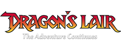 Dragon's Lair: The Adventure Continues - Clear Logo