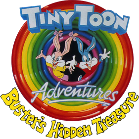 Tiny Toon Adventures: Buster's Hidden Treasure - Clear Logo