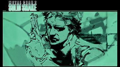 Metal Gear 2: Solid Snake - Fanart - Background