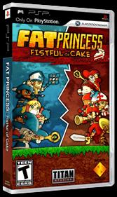 Fat Princess: Fistful of Cake - Box - 3D