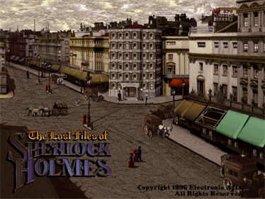 The Lost Files of Sherlock Holmes: The Case of the Rose Tattoo - Screenshot - Game Title