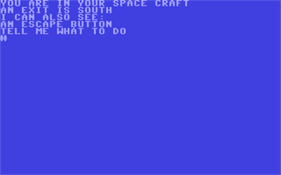 Adventure C: Ship of Doom - Screenshot - Gameplay