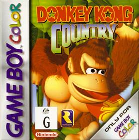 Donkey Kong Country - Box - Front