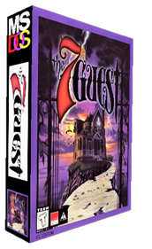 The 7th Guest - Box - 3D
