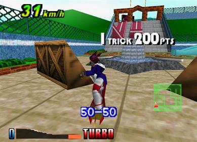 Air Boarder 64 - Screenshot - Gameplay