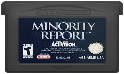 Minority Report: Everybody Runs - Cart - Front