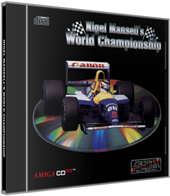 Nigel Mansell's World Championship - Box - 3D