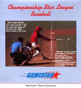 Championship Star League Baseball