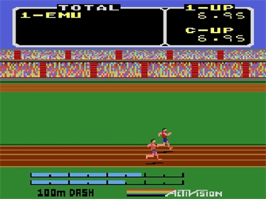 The Activision Decathlon - Screenshot - Gameplay