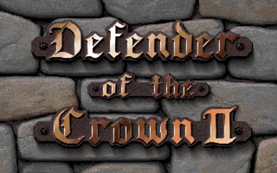 Defender of the Crown II - Screenshot - Game Title