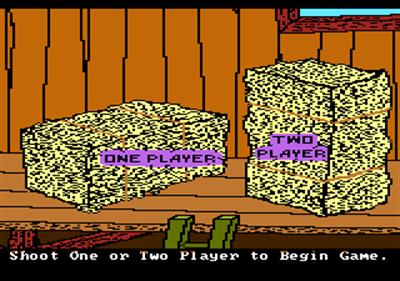 Barnyard Blaster - Screenshot - Game Select